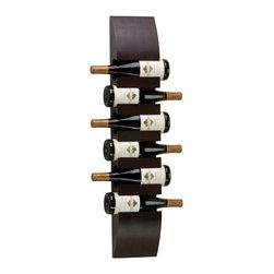 Cyan Design - Cyan Design 02797 Wall Wine Storage - Cyan Design 02797 Wall Wine Storage