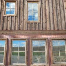 Rustic Exterior by Bridger Steel, Inc