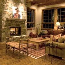 Rustic Hardwood Flooring by Stromberg Moore Hardwoods