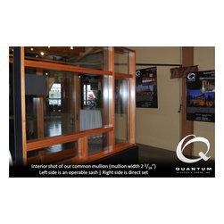 Quantum Windows and Doors -