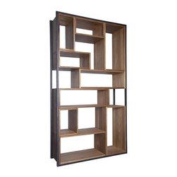 NOIR - NOIR Furniture - Bauhaus Bookcase - Features: