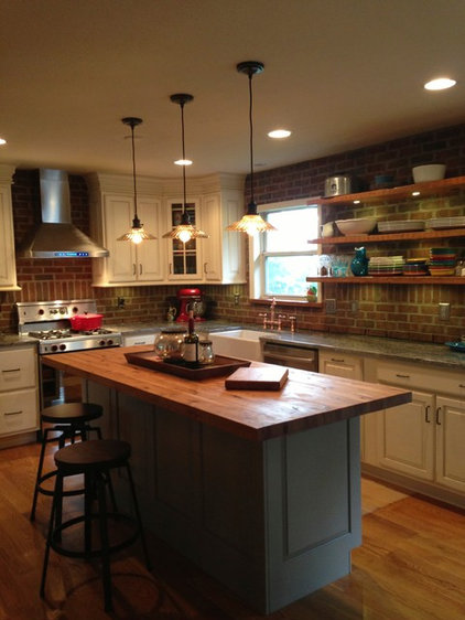 Remodeling - Kitchen Before and After