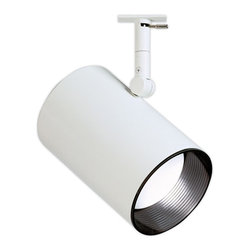 Lightolier - Lightolier 6350 Classics Basic Cylinder PAR30 Track Head - Economical spotlight gives a strong punch of accent light. Features a compression molded, black baffle to minimize glare. Lamp is regressed to provide shielding.Limited quantities available.