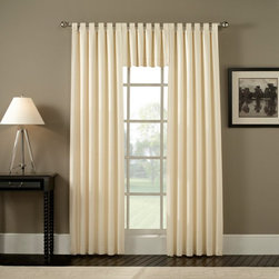 Ellis Curtain - Ellis Curtain Fireside Tab Top Valance - 601 TAB VALANCE-NATURAL - Shop for Window Treatments from Hayneedle.com! About A.L. Ellis Inc.Established in 1920 by Arthur Linwood Ellis A.L. Ellis Inc. is a 5th generation family owned and operated manufacturing company. With their headquarters located less than an hour away from the manufacturing facility they can easily control the wholesale business and produce their mail order catalogs. Their hand-made products consist of curtains draperies top treatments bedding toss pillows and chair pads. The main objective for A.L. Ellis Inc. is to always provide customers with high-quality products at a competitive price and in a timely manner. Remaining committed to the customer A.L. Ellis Inc. is a trusted company you can count on. Begin decorating your house with any of their products!