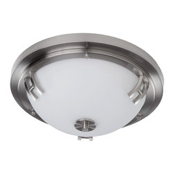 Artcraft Lighting - Artcraft Lighting AC2331PN Andover Polished Nickel Flush Mount - Artcraft Lighting AC2331PN Andover Polished Nickel Flush Mount