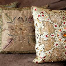 Asian Pillows by Banarsi Designs