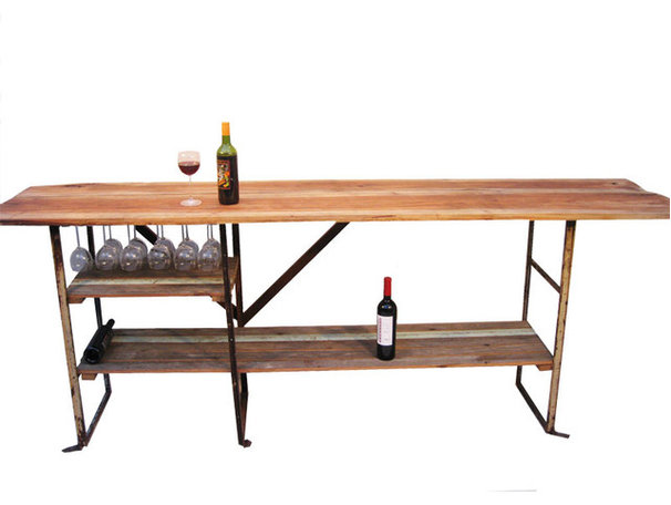 Eclectic Indoor Pub And Bistro Tables by Tempered Design
