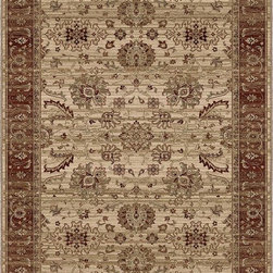 "Orian - Orian Empire Avinish (White) 7'10"" x 10'10"" Rug - This Machine Woven rug would make a great addition to any room in the house. The plush feel and durability of this rug will make it a must for your home. Free Shipping - Quick Delivery - Satisfaction Guaranteed"