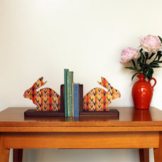 Eclectic Bookends by Wolfum