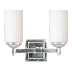 Livex Lighting - Livex Lighting 1422 Madison 2 Light Bathroom Vanity Light - Product Features: