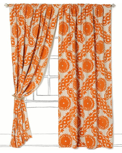 Eclectic Curtains by Anthropologie