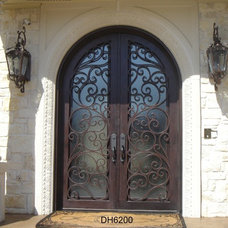 Traditional Exterior by D'Hierro Hand Forged Iron