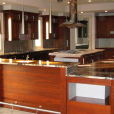 Contemporary Kitchen by SpartaCraft Custom Cabinets