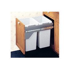 Pull-Out & Built-In Trash Cans - Cabinet Slide Out & Under Sink Kitchen Trash Ca