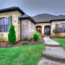Traditional Exterior by Best Light Media, Inc.