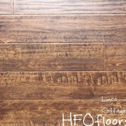 Linco Rocky Mountain - Rocky Mountain Collection Cottage Brown 12mm distressed birch laminate. Available at HFOfloors.com.