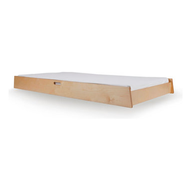 Oeuf - Oeuf Trundle Sparrow Bed - Designed by OeufPart of the Oeuf Sparrow Collection.Materials: Solid birch and non-toxic lacquer finish.Oeuf products meet or exceed all ASTM safety standards and are tested by Intertek Labtest to assure compliance. Oeuf is a member of JPMA.