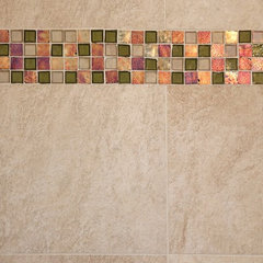 modern bathroom tile by Artistic Design and Construction, Inc
