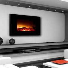 Modern Indoor Fireplaces by AvaLON Fireplace