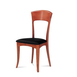Domitalia - Giusy Dining Chair, Light Cherry (Set of 2) - -Chair