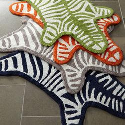 Zebra Bath Rug -