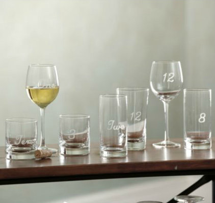 modern glassware by Ballard Designs
