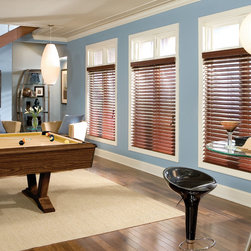 Real Wood Blinds - Feel the elegance of Real Wood Blinds: Starting at $29.36 only at Shades Shutters Blinds!