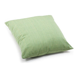 ZUO - Parrot Outdoor Pillow - Large - The approximate color - if not shape - of your average parrot, this pillow has the advantage of being much quieter. The Parrot Pillow is lime green with mixed thread for interest. Water resistant so it's perfect for the patio. Comes in small or large.