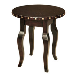 24-inch Santiago Round Side Table