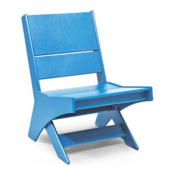 Loll Designs - Lotus Chair, Sky Blue - It is said that a dragon will be teased by a shrimp in shoal water; a tiger will be bullied by a dog on a treeless plain. It is also said that laughter is the shortest distance between two people. We couldn't agree more...