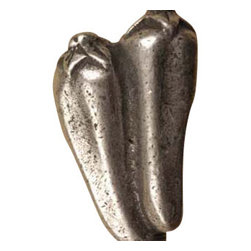Anne at Home Hardware - Chili Peppers Knob, Antique Bronze - Made in the USA - Anne at Home customized cabinet hardware enables even the most discriminating homeowner to achieve the look of their dreams.  Because Anne at Home cabinet hardware is designed to meet your preferences, it may take up to 3-4 weeks to arrive at your door. But don't let that stop you - having customized Anne at Home cabinet knobs and pulls are well worth the wait!   - Available in many finishes.