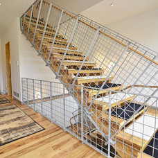 Contemporary Staircase by Murphy & Co. Design