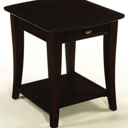 Bestsellers - Enclave Rectangula End Table T2079221-00 by Hammary Furniture