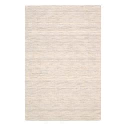 """Nourison - Nourison Waverly Grand Suite WGS01 (Sterling) 8' x 10'6"""" Rug - The Waverly Grand Suite area rug highlights fresh texture and color, creating a new twist on a solid rug. Made of luxurious wool this cordial-colored rug boasts beautiful movements of color and smoothness to create added dimension. This understated rug also offers a plush, 0.5-inch pile underfoot."""