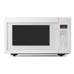 None - Whirlpool White Countertop Microwave Oven - With up to 1,200 watts of cooking power,you'll have everything you need to prepare all types of food. Sensor cooking tracks the progress of your food and automatically adjusts the cooking time as needed to deliver optimal results.