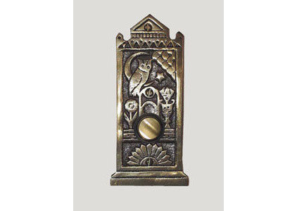 Traditional Doorbells And Chimes Victorian Doorbell with Owl