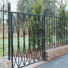 Traditional Fencing by creative iron designs
