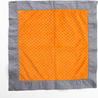 "Teyo's Tires - Binky Blanket - Binky blanket is also soft minky on both sides and trimmed in ""Sheet Metal"" cotton print fabric.  Also available in sets!"