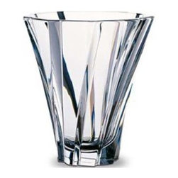 Baccarat - Baccarat Objectif Vase Small - Baccarat Objectif Vase SmallBaccarat Crystal can trace its history back to 18th century France, where in the village of Baccarat a glassworks facility was established. Since 1794 they have been producing some of the world,s finest crystal, using age old methods. Baccarat crystal glasses have been produced for kings and queens alike. Their delicate detailing and unparalleled quality are sought after by collectors around the world, and now they can be part of your home at affordable prices