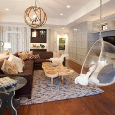 Modern Living Room by Lucy and Company