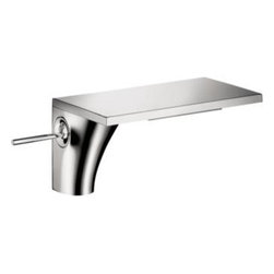 Axor - Hansgrohe - Axor Massaud Lavatory Mixer  - Chrome Finish - 18010001 - Water is the source of all life. Jean-Marie Massaud has developed a bathroom concept that is at one with nature. The faucet becomes a waterfall. The towel rack, a branching tree. The bathtub, a lake.