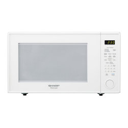 "Sharp - 2.2 Cu.Ft, 1200W with 16"" Tunrtable, Sensor, Keep Warm Function - The Sharp Carousel R659YW 2.2 Cu. Ft. 1200W Countertop Microwave Oven, in white, is a well-designed, extra-large microwave oven with a scratch-resistant glass door and a 16-inch glass, Carousel turntable. This family-friendly microwave oven combines a stunning appearance with smart, time-saving features including sensor cook, one-touch settings and softening options. Sensor cooking technology automatically determines cooking time and eliminates guesswork making microwave cooking easier than ever. Plus, the Keep Warm Plus feature lets you keep food warm for 30 minutes after cooking with no loss of food quality.2.2 cu. ft. capacity microwave oven with removable 16-inch glass turntable"