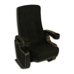 Seatcraft - First Class Movie Theater Chair - BS831-Black - First Class Collection