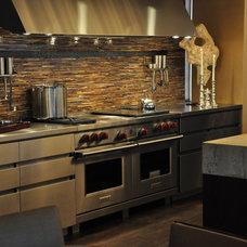Contemporary Major Kitchen Appliances by Sub-Zero and Wolf Showroom, Manhattan
