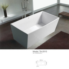 Contemporary Bathtubs by sarah