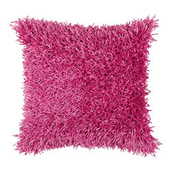 "Pink Pink 18"" x 18"" Pillow  Set of 2 - *18"" x 18"" Pillow with Hidden Zipper"