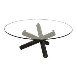 NOIR - NOIR Furniture - Trois Coffee Table - GTAB137MT - Features: