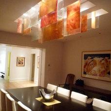 Modern Dining Room by Galilee Lighting