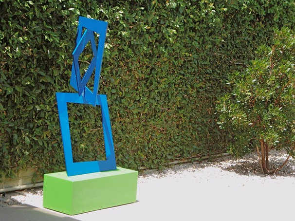 Contemporary Garden Statues And Yard Art by TerraSculpture