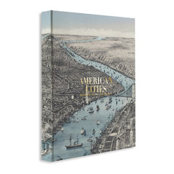 "American Cities - From Assouline, the world""s premier publisher of luxury books, comes American Cities.  This book features nine American cities and the maps that laid the groundwork for each of thriving urban metropolitan areas.  American Cities includes rare maps of Boston, New York, Philadelphia, Washington, D.C., New Orleans, St. Louis, Chicago, Denver, and San Francisco. Unique images and essays accompany the works of history that lead readers on a colorful journey from a whole new perspective.  See how the lay of the land has changed for each metropolis and find rhyme and reason for the current topography.  The spirit of each city lives on not only in the hearts of those who call it home, but in this lavish 200-page coffee table book. American Cities makes a great gift for the history buff and even those that have a deep-rooted love for their city and our country."